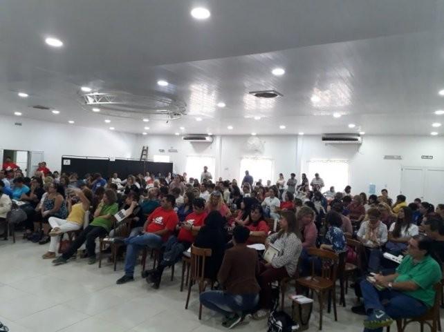 El Congreso de Agmer decidió acatar la conciliación obligatoria