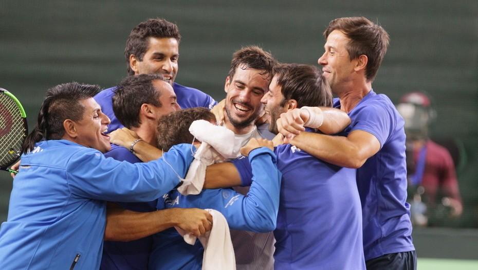 Argentina ya tiene rival para intentar volver a la elite de la Copa Davis
