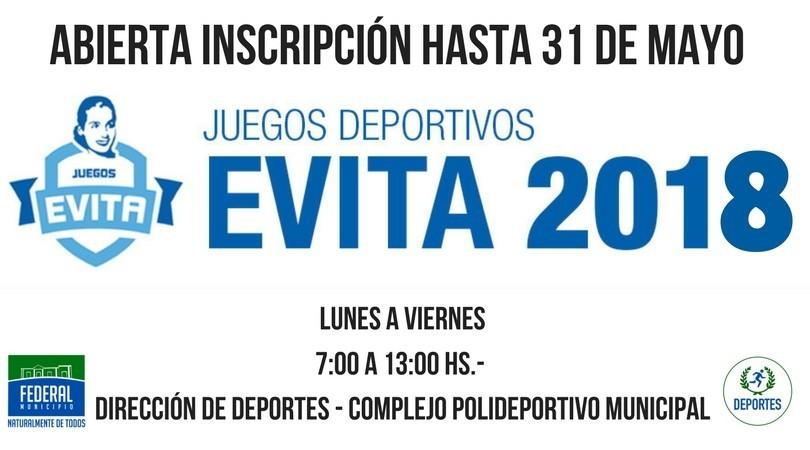 Juegos Evita 2018