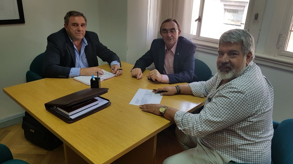 Gestiones del Municipio de C.Bernardi en organismos nacionales