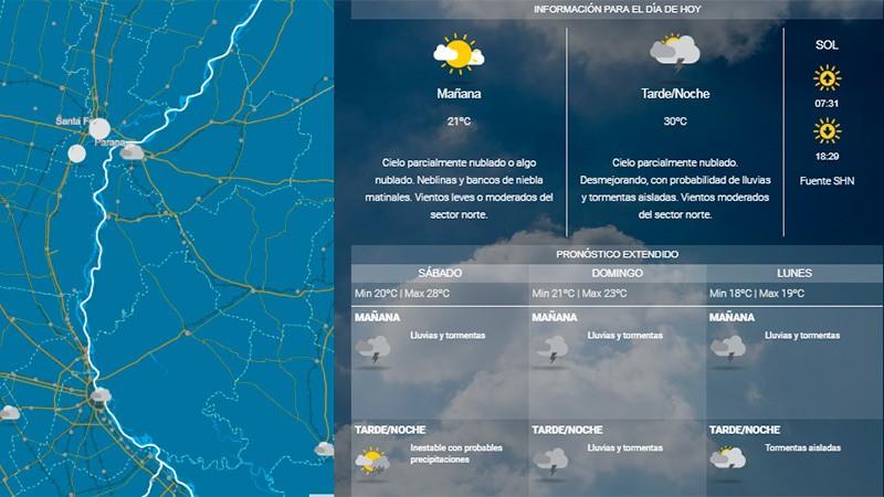 Fin de semana con mal tiempo: Anuncian que esta tarde empezará a desmejorar