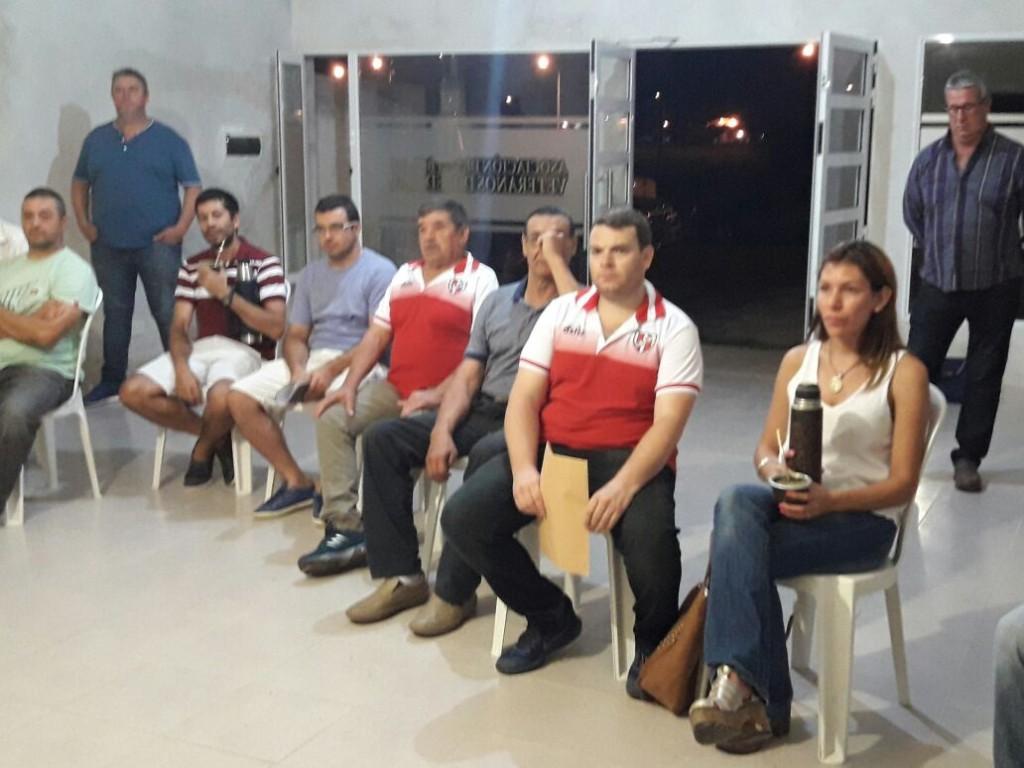 Reunión de Clubes y Asociaciones con el Dip.Nacional Jorge Lacoste