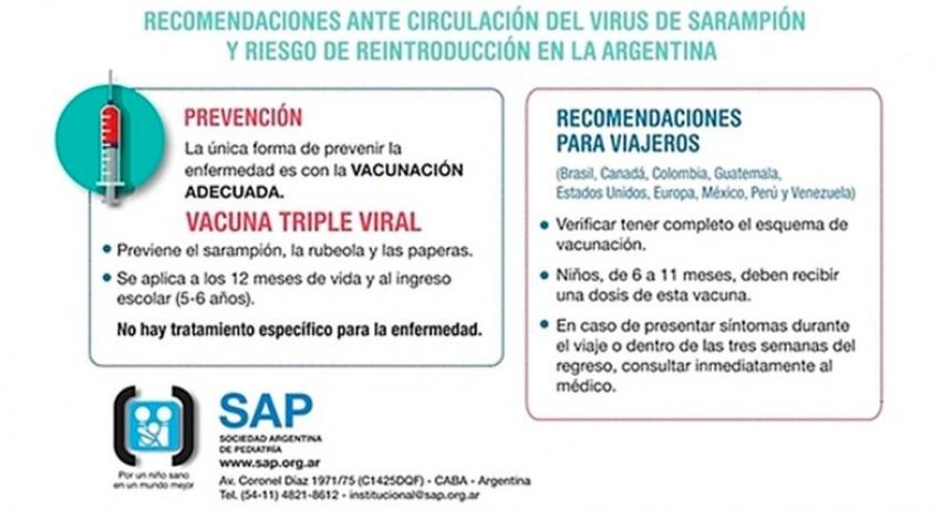 Advierten que el sarampión podría agravarse con un brote de bronquiolitis