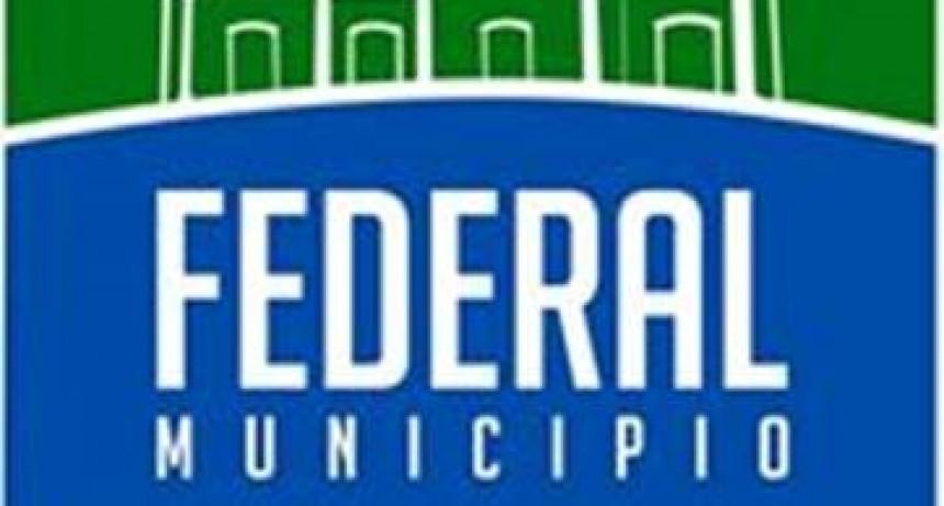 Municipalidad de Federal : LICITACIÓN PÚBLICA Nº 01/2018