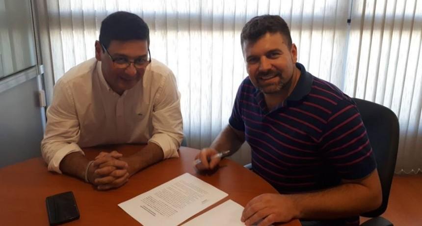 Enersa y el Municipio de Federal firmaron convenio para la ampliación de compra de 200 luminarias Led