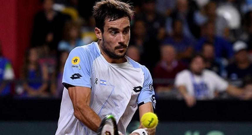 Copa Davis: Argentina le ganó a Chile en el quinto punto e irá por el ascenso