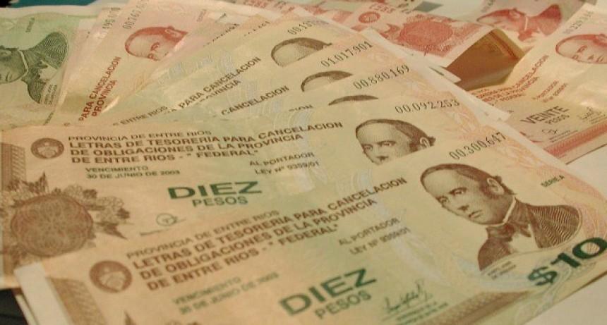 Aparecieron bonos pero Entre Ríos tiene prohibido emitir