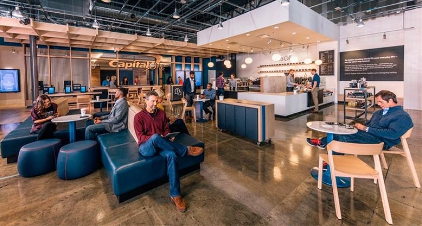 Los bancos avanzan en la instalación de cafeterías y brindar servicio de Wi-Fi