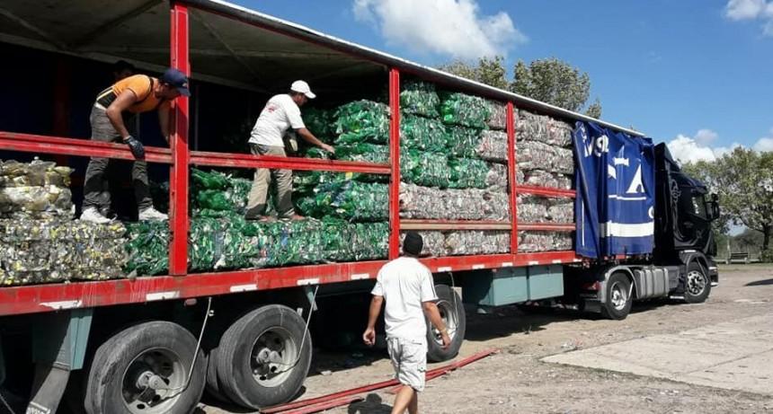 Nuevas cargas de materiales en la Planta de Tratamiento de Residuos