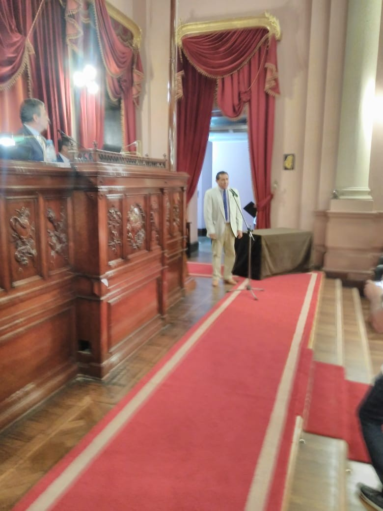 Homenaje a ex combatientes de Malvinas en Cámara de Diputados de Entre Ríos.