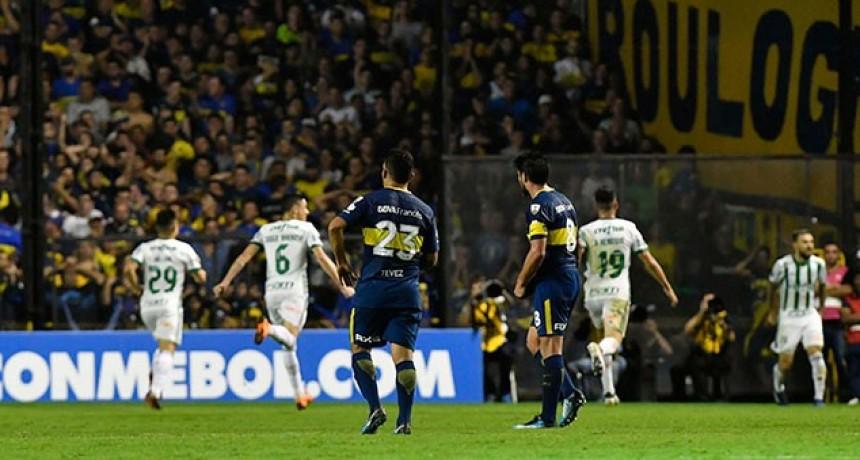 Boca cayó con Palmeiras y complicó su clasificación en la Copa Libertadores