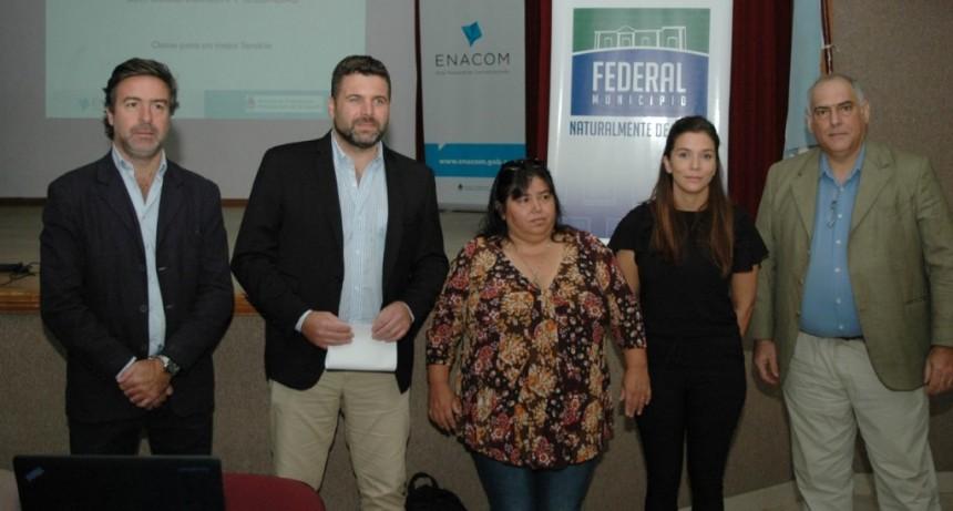 El Intendente Chapino participo del Programa