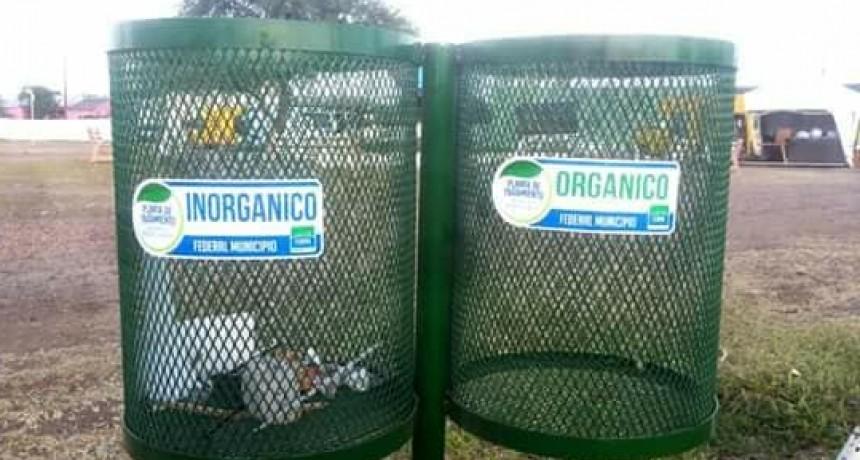 Piden ubicar cestos para residuos en donde funcionan Instituciones