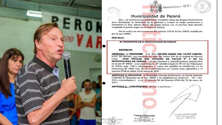 """Varisco insiste para nombrar como jueza a """"la garante de su contrato de alquiler"""""""