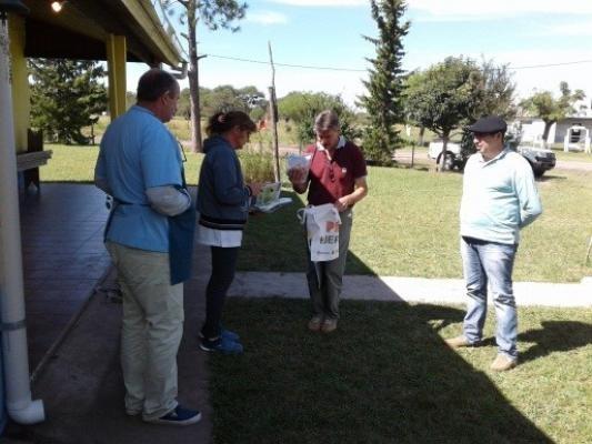 Federal : Huertas escolares, calidad de agua y energía solar