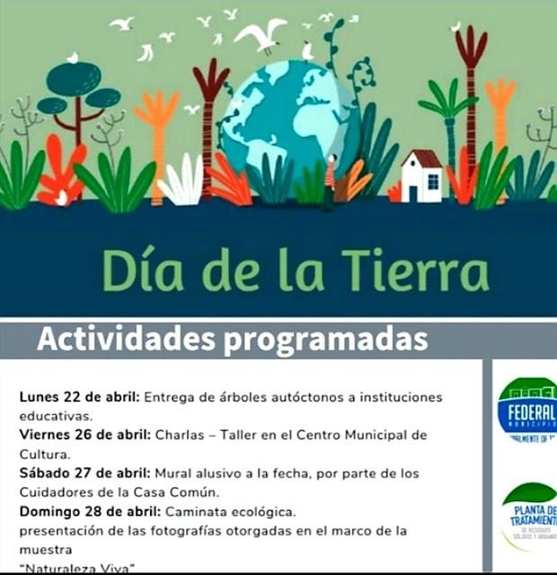 Jornada por el Día Internacional de la Tierra