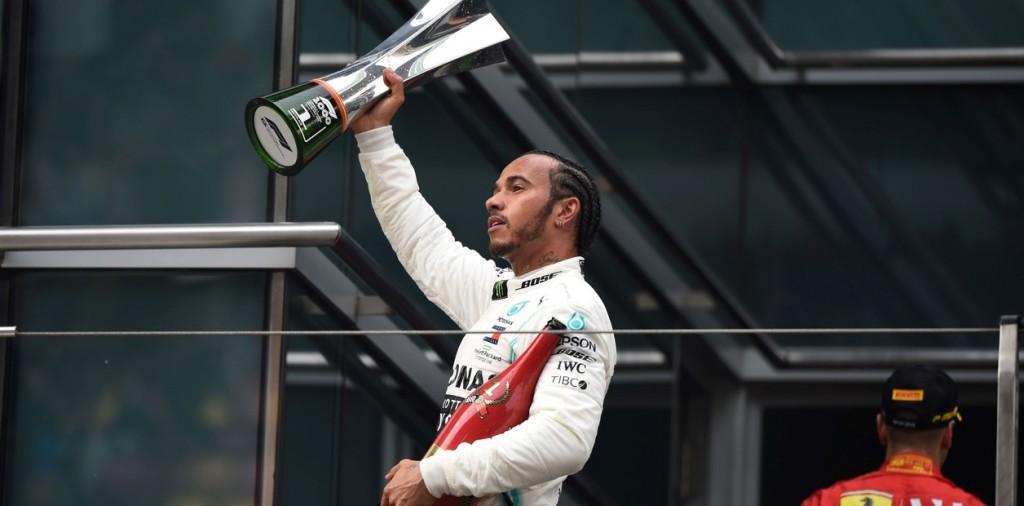 Gran Premio de China: Lewis Hamilton ganó la carrera 1.000 de la Fórmula 1 y saltó a la punta del campeonato
