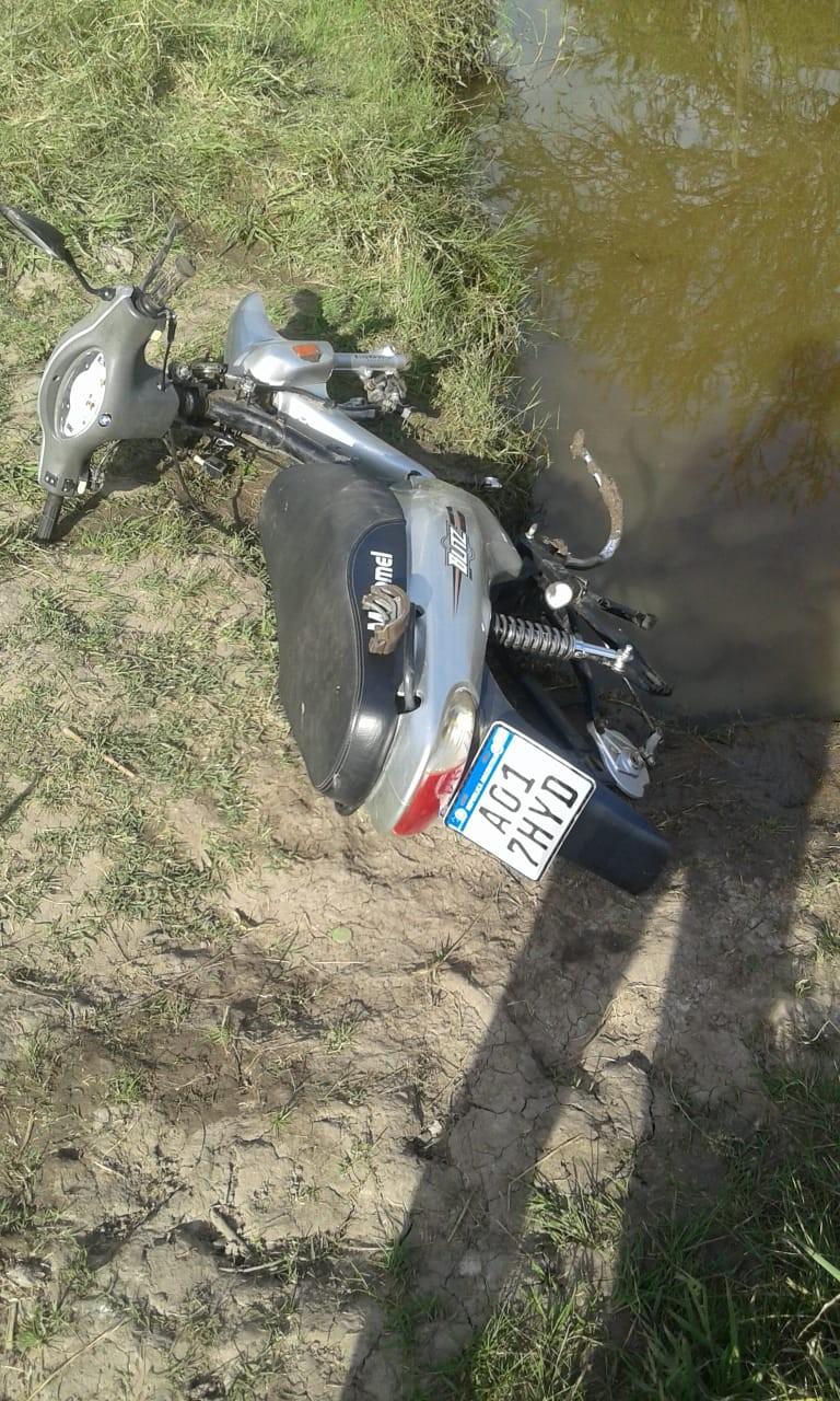 Secuestran moto que había sido robada
