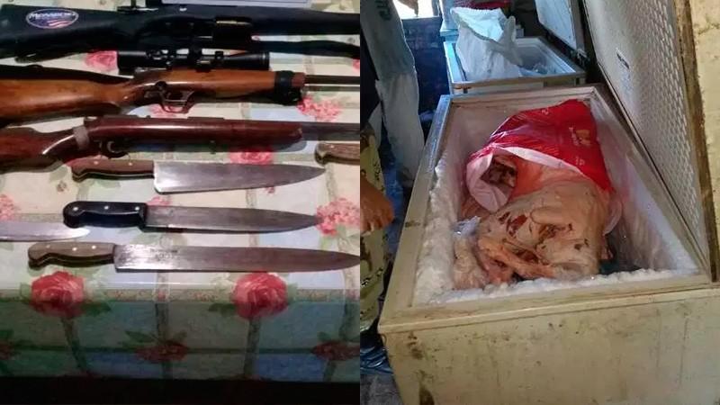 Le robaron tres corderos y los hallaron el freezer de un vecino