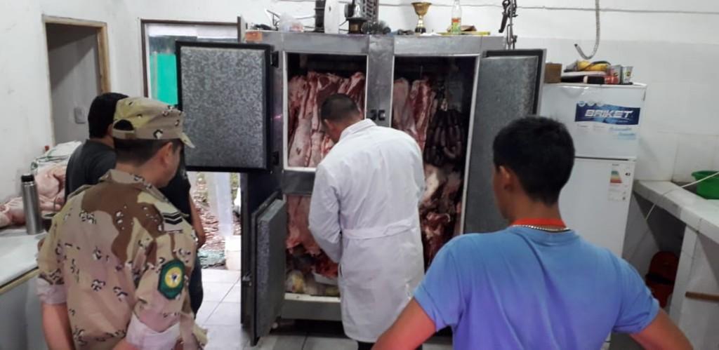 Decomisan carne carente de la documentación correspondiente