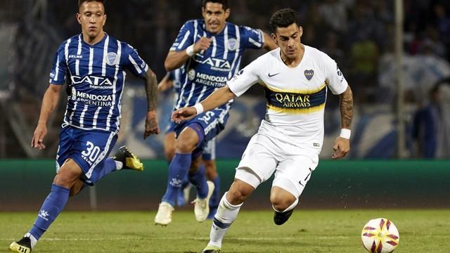 Boca consiguió la victoria sobre el final en Mendoza ante Godoy Cruz