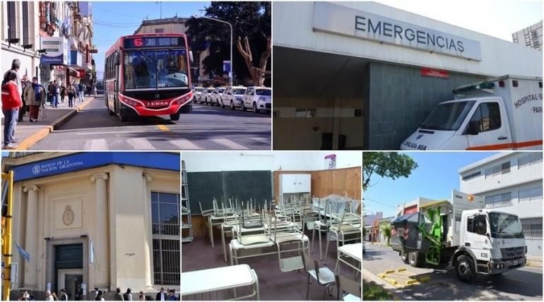 ¿Qué servicios se verán afectados por el paro este martes en Entre Ríos?