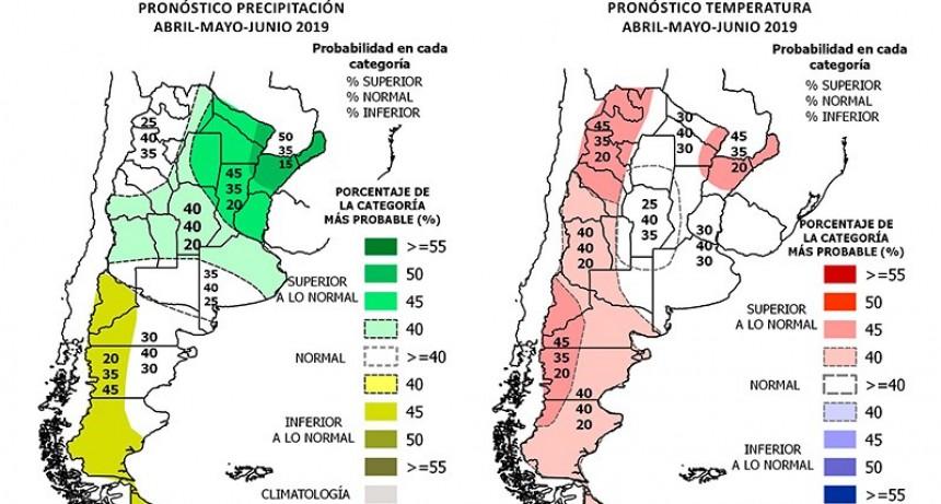 El Servicio Meteorológico advierte sobre alta probabilidad de un otoño lluvioso