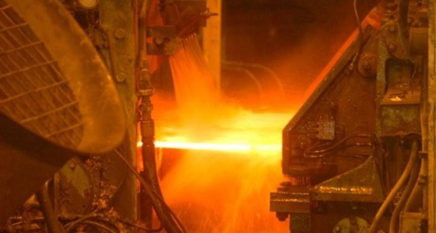 La producción metalúrgica cayó un 10% en la provincia
