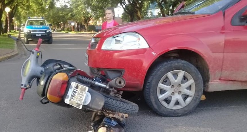 Accidente de transito con lesionado de consideración