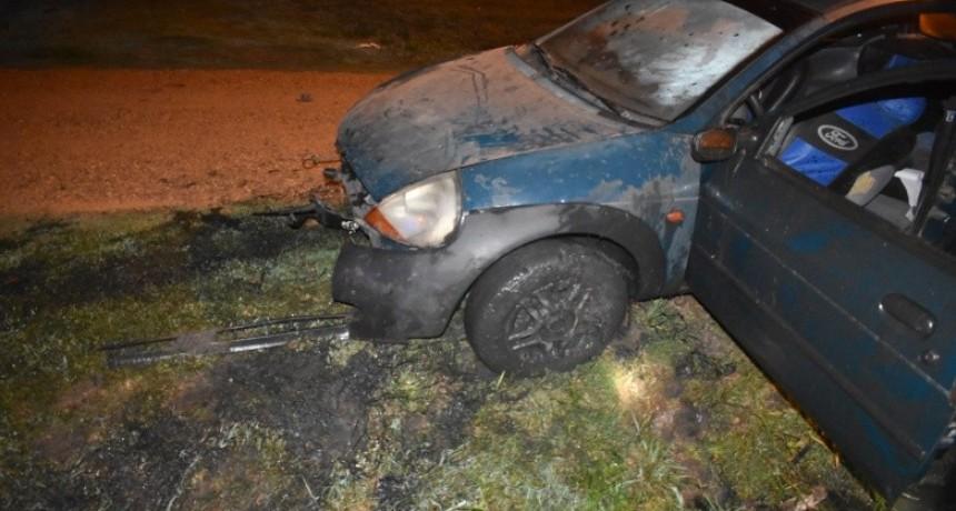 Federal : Perdió el control del auto y murió al salir despedido en violento siniestro vial