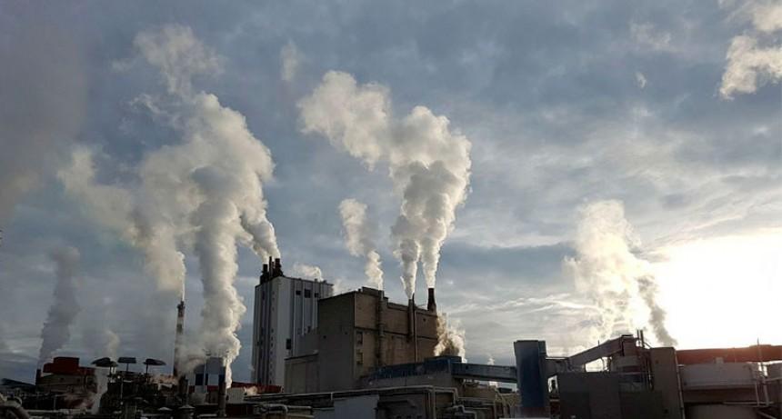 El nivel de CO2 en la atmósfera es el más alto en tres millones de años