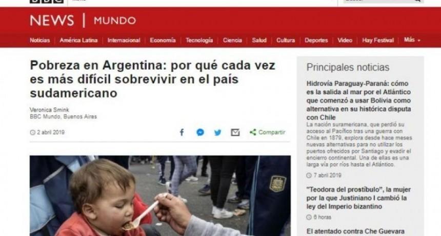 Durísima nota de la BBC sobre Argentina