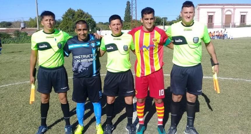 En su debut en la Copa Entre Ríos , Malvinas se trajo un buen empate de La Paz