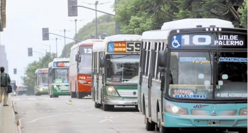 Gremios del transporte anunciaron un paro nacional para el 1º de mayo