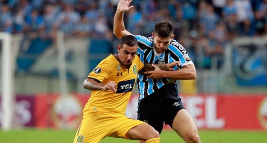 Central perdió en Brasil y quedó complicado en la Libertadores