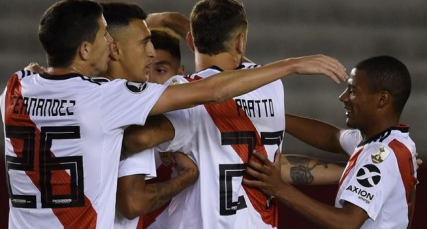 River goleó a Alianza Lima en El Monumental por la Copa Libertadores