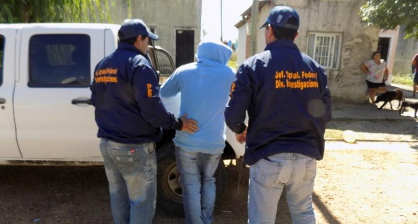Logran detener a tres autores de asalto y recuperan efectos relacionados al hecho