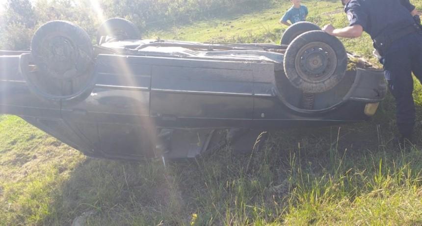 Accidente de transito en Ruta K
