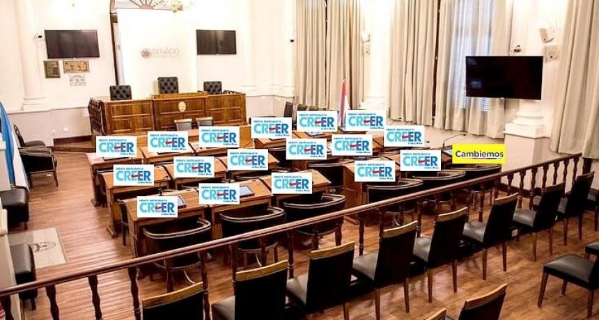 PASO: Solo 1 de los 17 senadores provinciales es de Cambiemos, el resto todo peronismo