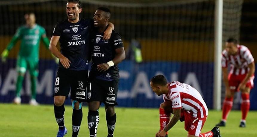 Unión perdió por penales y quedó eliminado de la Copa Sudamericana