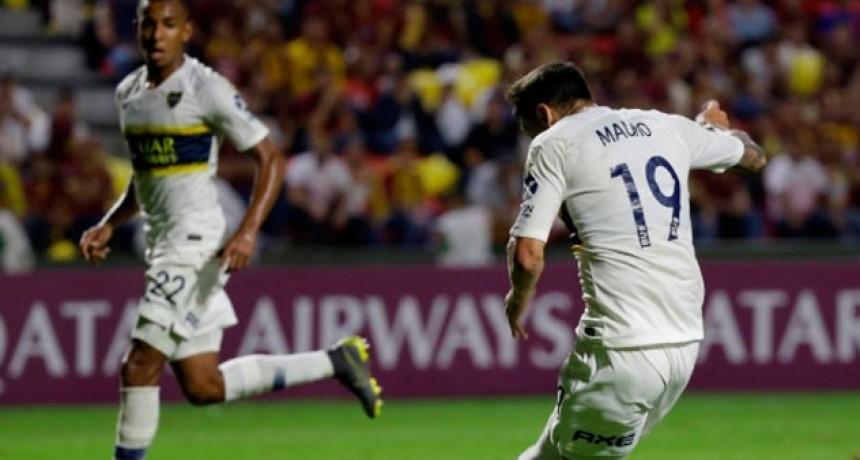 Copa Libertadores: Boca logró un empate ante Tolima y quedó a un paso de octavos