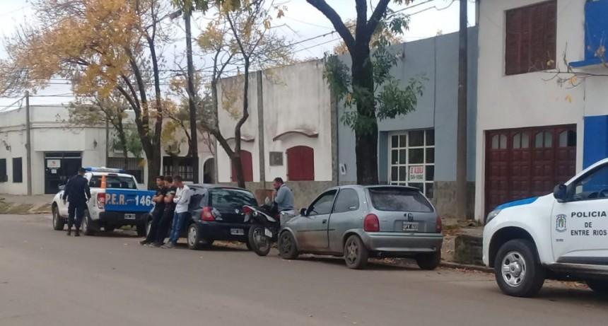 Control vehicular en zona urbana