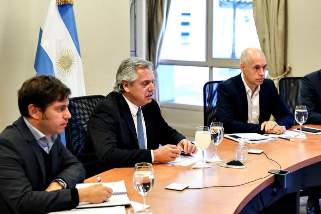 El Presidente les anunció a los gobernadores un programa de emergencia con 120.000 millones de pesos para asistencia