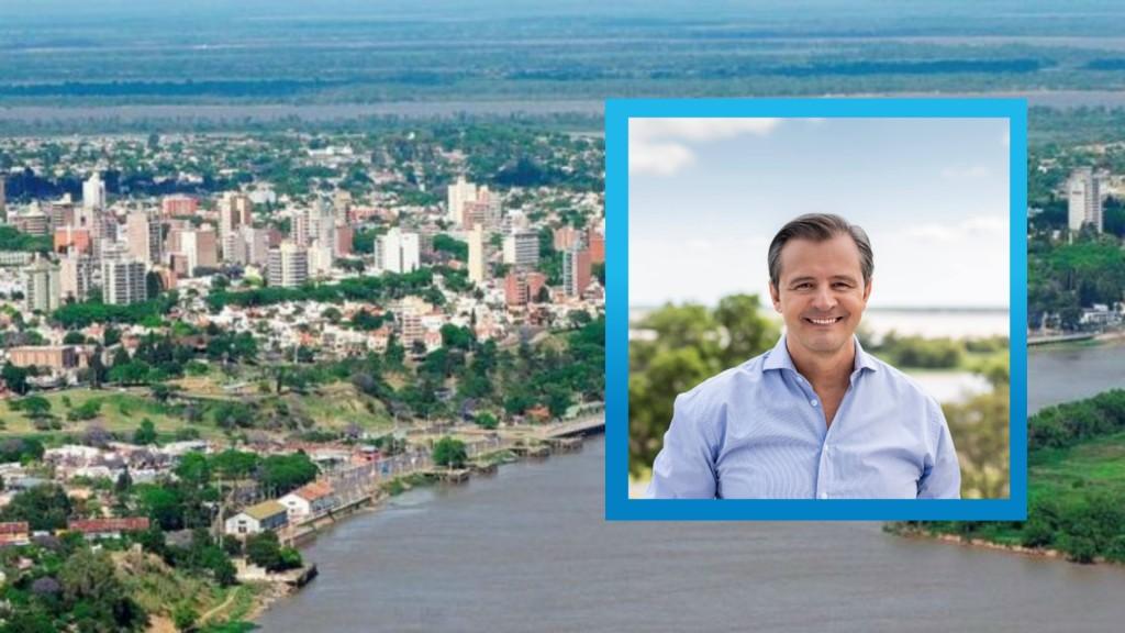 El Intendente Adán Bhal en su recorrida por hospitales de Paraná se prestó en dialogo con FM Cien Federal