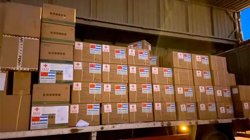 Coronavirus: China le donó insumos médicos al país para afrontar la pandemia
