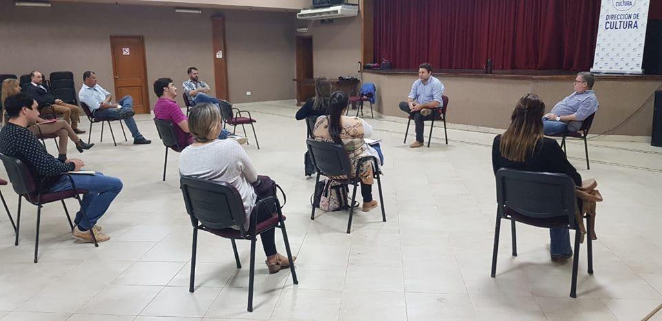 Productivo encuentro de trabajo entre el Intendente de Federal y los Concejales