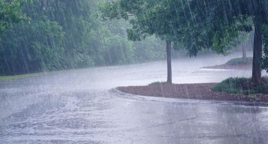 Alerta por lluvias y tormentas fuertes para una zona de Entre Ríos