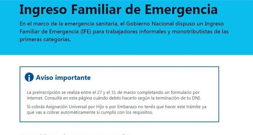 Ingreso Familiar de Emergencia: Qué pasos deben seguir beneficiarios para cobrar