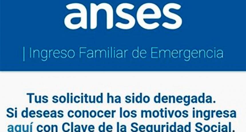 Ingreso Familiar de Emergencia: ¿Se puede reclamar si la solicitud fue denegada?