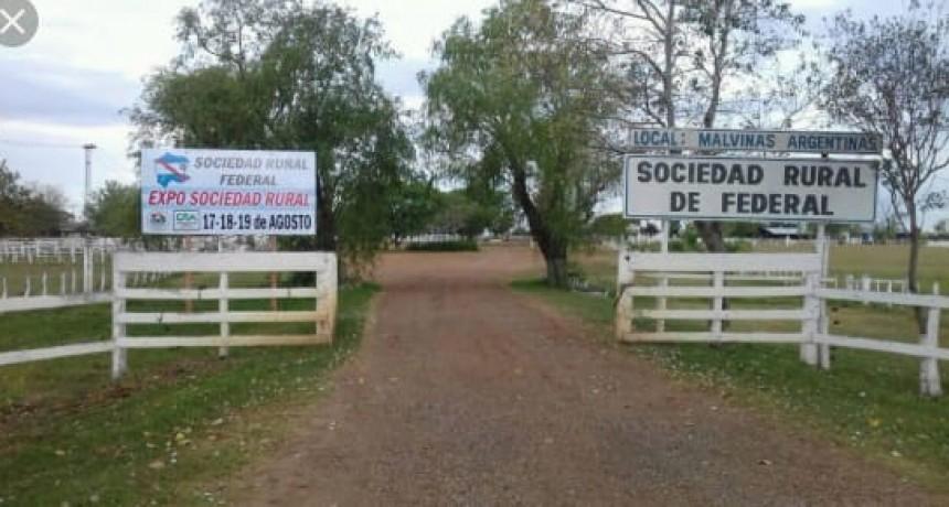 Aporte de la Sociedad Rural de Federal
